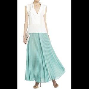 BCBG Estel Pleated Maxi Skirt